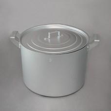 Кастрюля 2 л матовая алюминиевая